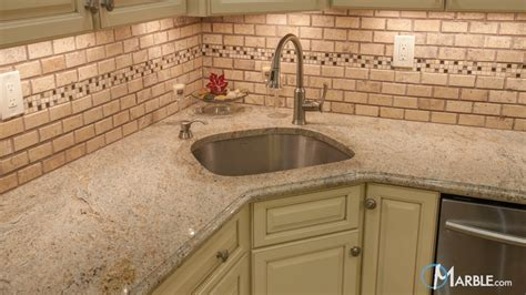ivory granite kitchen countertop