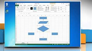 How To Make A Flow Chart In Excel 2013