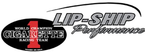 Cigarette Boat License Plate by Lip Ship Performance Cigarette Racing Team