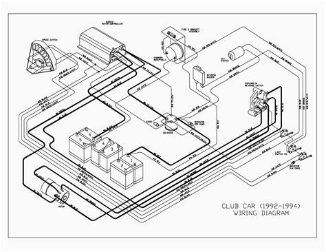 Club Car Wiring Diagram Gas Free
