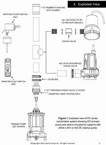 Liberty 442 Series Stormcell Sump Pump 10a Diagram