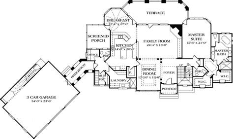 luxury with separate guest house 17526lv architectural designs house plans