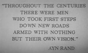 Ayn Rand Quotes... Ayn Rand Fountainhead Quotes