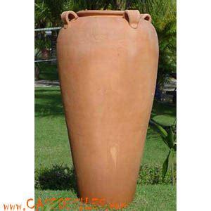 poterie terre cuite geante de jardin d61x122 pas cher