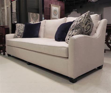 Bench Cushion Sofa Robin Bruce Bristol 033 110 Inch Bench