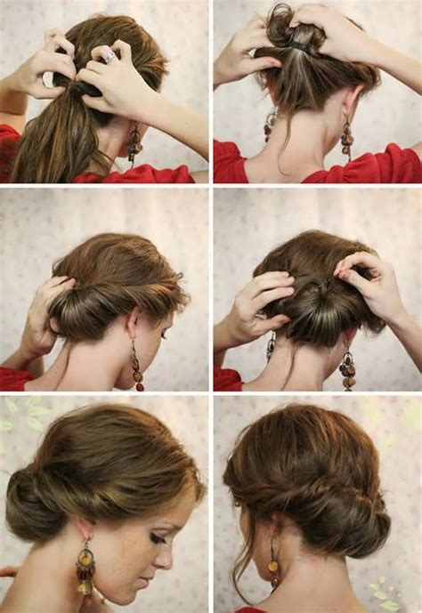 easy hairstyles step  step hairstyles