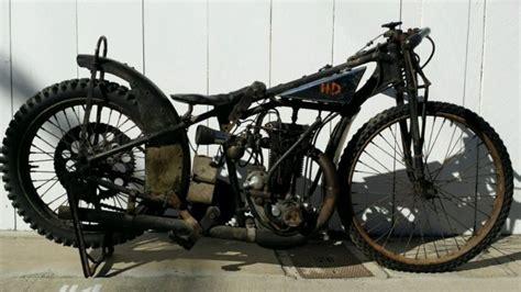 Rare 1920s Harley Davidson Peashooter Racer Track Bike