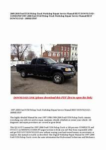 1997 2000 Ford F150 Pickup Truck Workshop Repair Service Manual Best Download 180mb Pdf  By