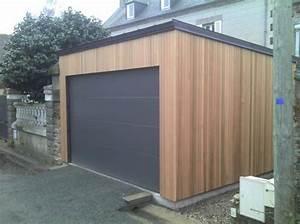Garage Ossature Bois : menuiserie le provost ~ Melissatoandfro.com Idées de Décoration