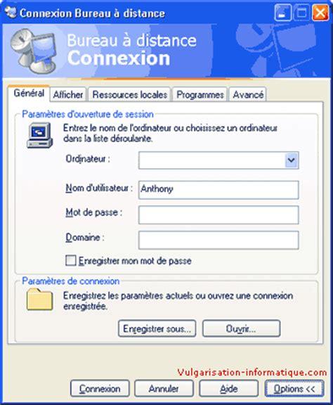 la connexion du bureau 224 distance 183 les programmeurs de l iss