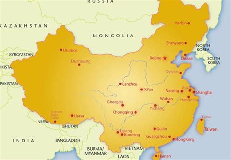 map  china visit china tours  china china maps