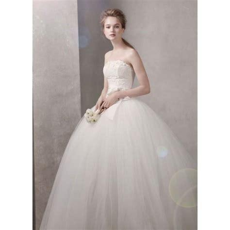 Taffeta Ball Gown With Floral Embroidery On Bodice Vera