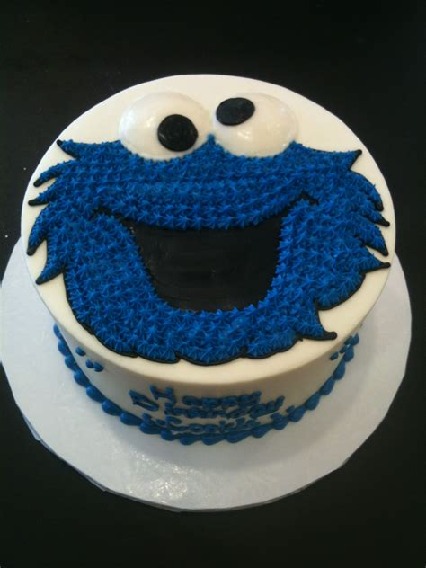 cookie monster cakes decoration ideas  birthday