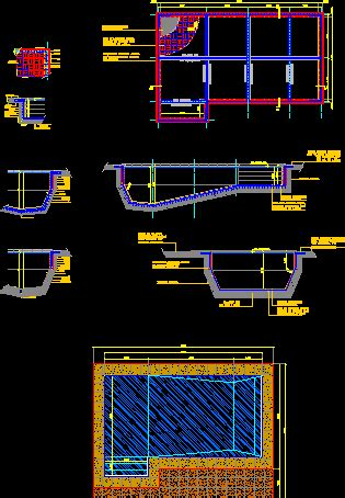 swimming pool dwg detail  autocad designs cad