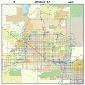 Phoenix Arizona Street Map 0455000
