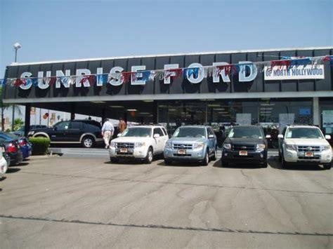 Sunrise Ford  North Hollywood, Ca 916012724 Car