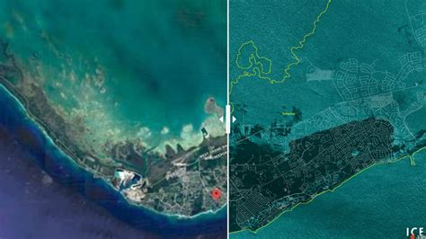 satellite images show grand bahama