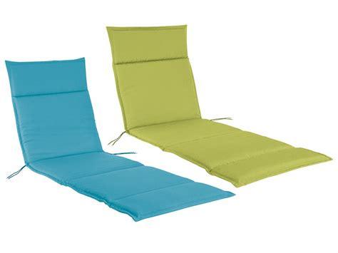 coussin pour chaise longue florabest coussin pour chaise de jardin 190 x 5 lidl
