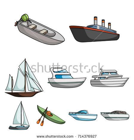 Barge Boat Icon by Ships Boats Icons Barge Cruise Ship Stock Vector 557972398