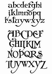 pretty art nouveau font again not too girly but feminine ...