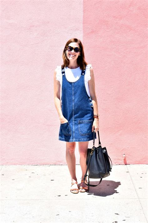 Best 25+ Denim jumper dress ideas on Pinterest | Denim jumper Denim overalls and Overall dress