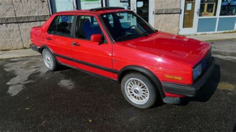 Purchase Used 1990 Volkswagen Jetta Gli 16-valve Sedan 4