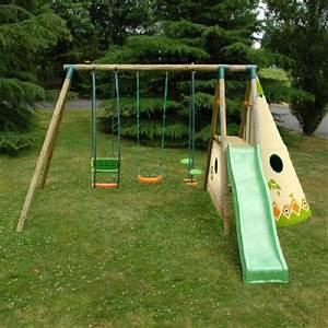 Aire De Jeux Soulet : aire de jeux de jardin photo 1 10 une aire de jeux de ~ Dailycaller-alerts.com Idées de Décoration