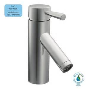 moen level single handle bathroom faucet in chrome finish
