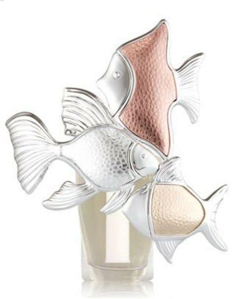 bath body plug works nightlight diffuser fish night wallflower trio metallic rover candles