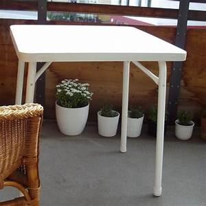 balkontisch neu und gebraucht kaufen bei dhd24com With französischer balkon mit balkontisch mit loch für sonnenschirm