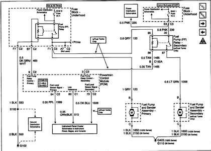 Voltage Regulator Wiring Diagram 99 Tahoe by Fuel Wiring Diagram Fixya