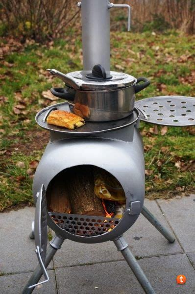 version  gas bottle wood stove projects recipes
