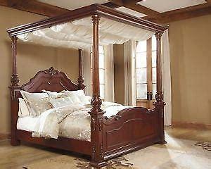 king canopy bed ebay