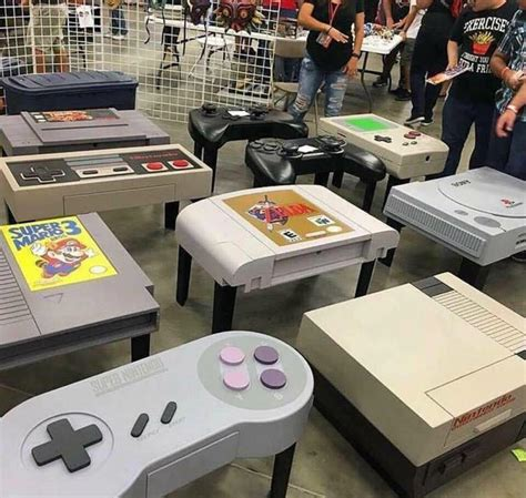 Console Themed Coffee Tables Gaming