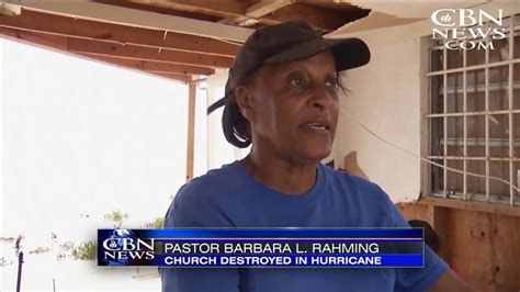 Haitian Christians Worship God Under Hurricane Devastated
