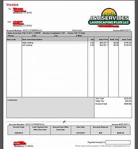 download invoice template free landscaping rabitahnet With free landscaping invoice