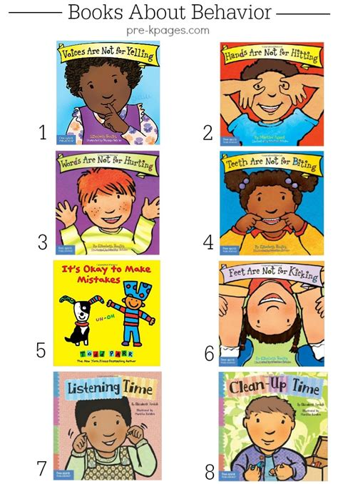 classroom for pre k and kindergarten 850 | Behavior Books for Preschool