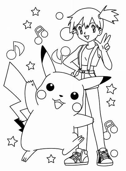 Pokemon Coloring Pages Printables Pikachu Previous