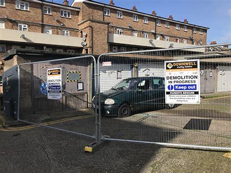 garage demolition  asbestos sheet removal  south east