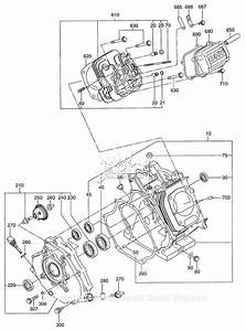 Robin  Subaru Eh41 Parts Diagram For Crankcase