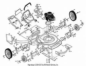 Poulan Pp2255 Mower Parts Diagram For Rotary Lawn Mower