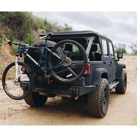 rack bike tire spare jeep wrangler strap sr1