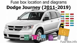 Fuse Box Location And Diagrams  Dodge Journey  2011