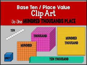 Place Value Base Ten Blocks Hundreds