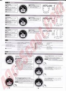 Koso Tach  U0026 Cylinder Head Temp Gauge Install