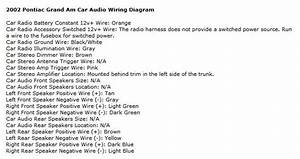 2001 Grand Am Monsoon Stereo Wiring Diagram