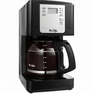 Mr  Coffee Cafe Latte Home Brewer  Black Bvmc