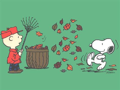 Peanuts Autumn Wallpaper