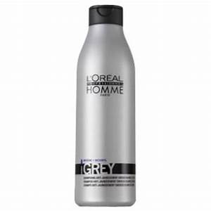 L39OREAL PROFESSIONNEL HOMME GREY ANTI YELLOWING SHAMPOO