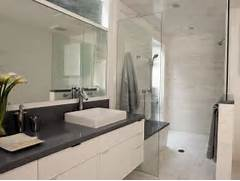 Bathroom Design Grey And White Light Airy Contemporary Bathroom Christopher Grubb HGTV